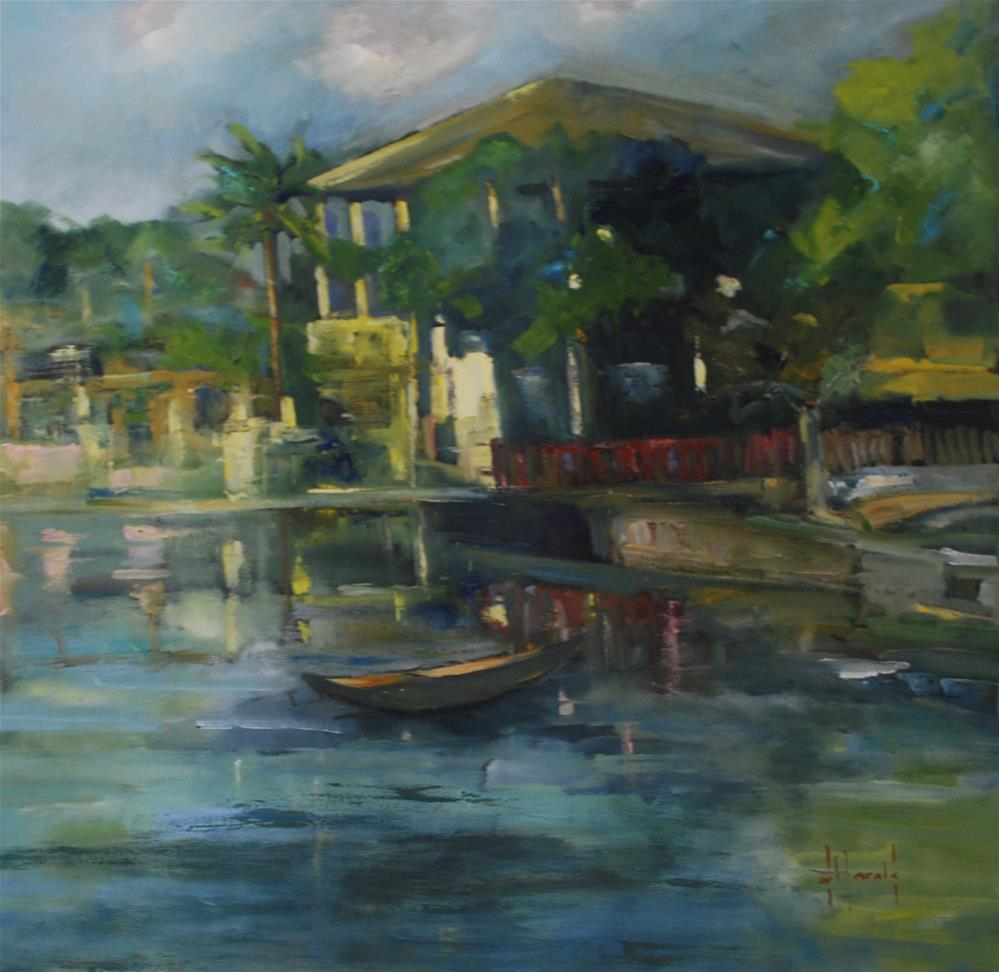 """Good Morning Vietnam"" original fine art by Deborah Harold"