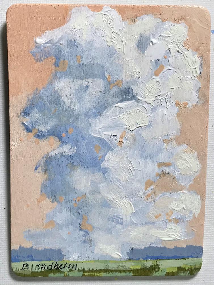 """Nimbus"" original fine art by Linda Blondheim"