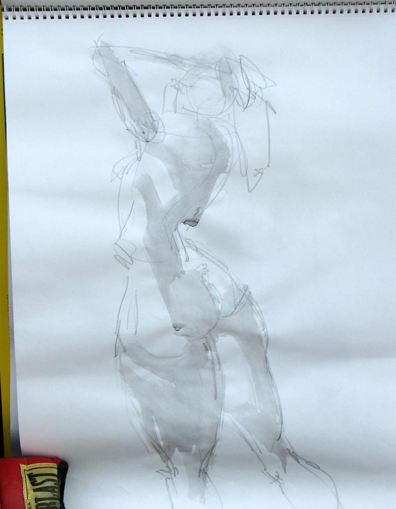 """gesture 2"" original fine art by jeffrey kasbohm"
