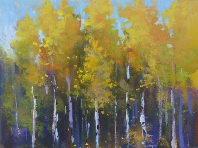 """""""Guess the Mystery Underpainting"""" original fine art by Karen Margulis"""