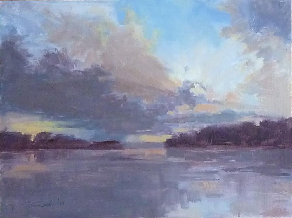 """Sunset #1"" original fine art by Ron Ferkol"