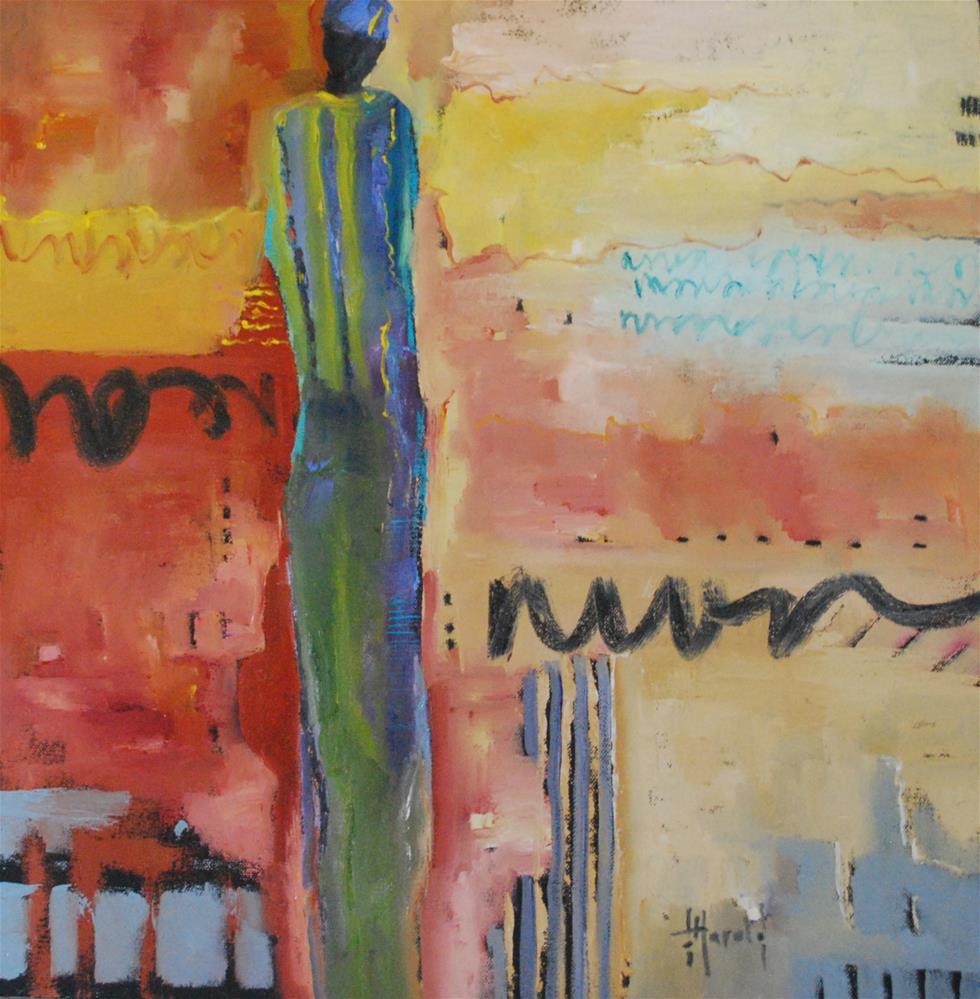 """Letters Home"" original fine art by Deborah Harold"