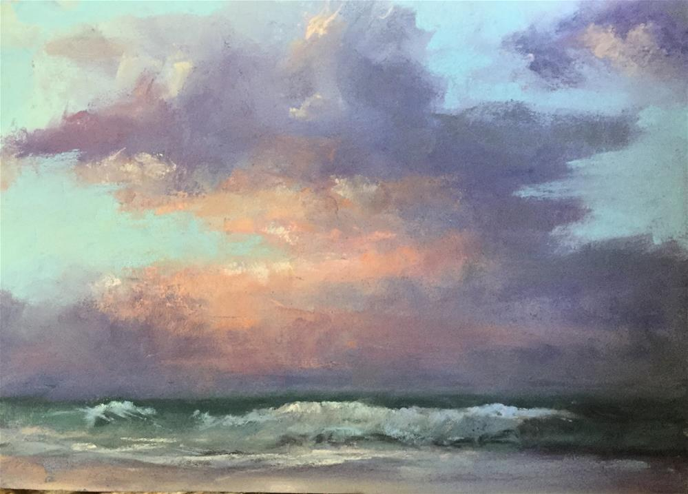"""Sunrise in Carolina"" original fine art by Jan Hutchinson"