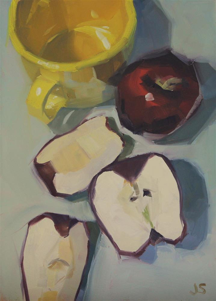 """Apple Trail"" original fine art by Jamie Stevens"