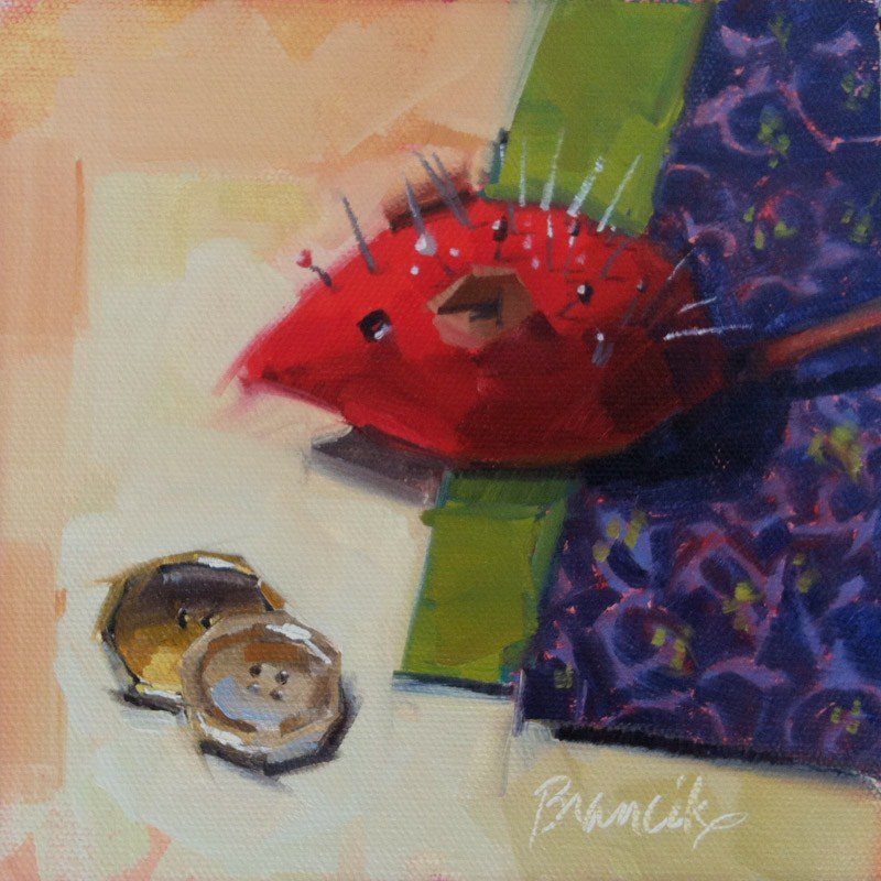 """Mom's Mouse"" original fine art by Candace Brancik"