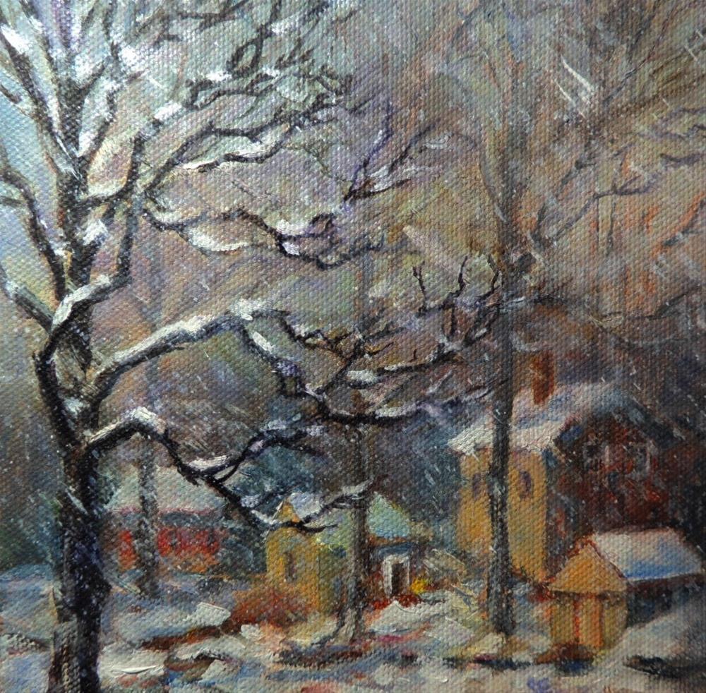 """Sugan Road"" original fine art by Sharon Egan"