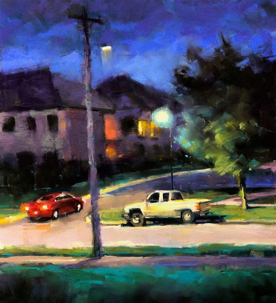 """Late Night"" original fine art by Marla Baggetta"