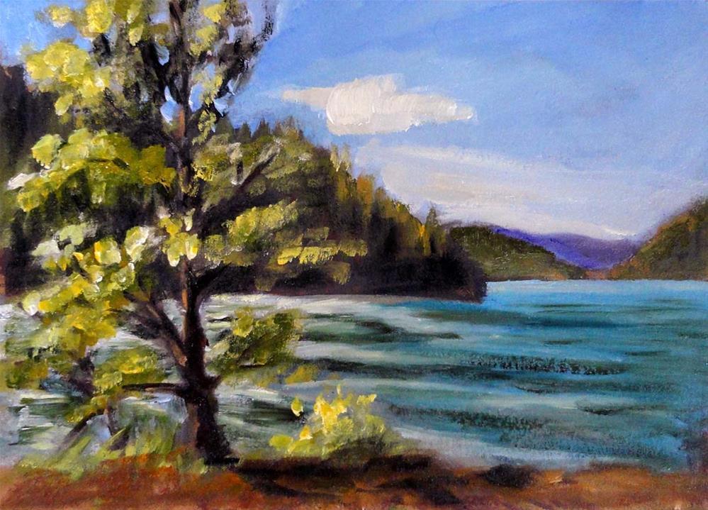 """Windy Afternoon"" original fine art by Cietha Wilson"