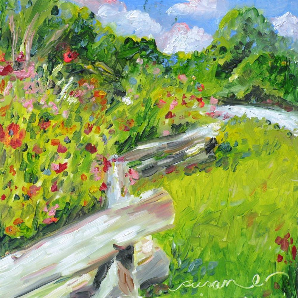 """""""Down the Natchez Trace"""" original fine art by Susan Elizabeth Jones"""