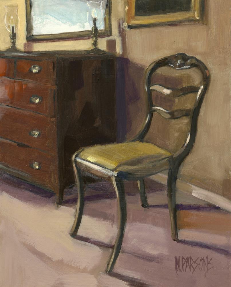 """Morning Salutations (framed)"" original fine art by Nancy Parsons"