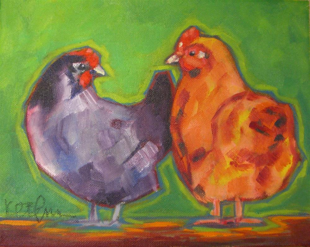 """Care to Dance?"" original fine art by Kathy Broyles"