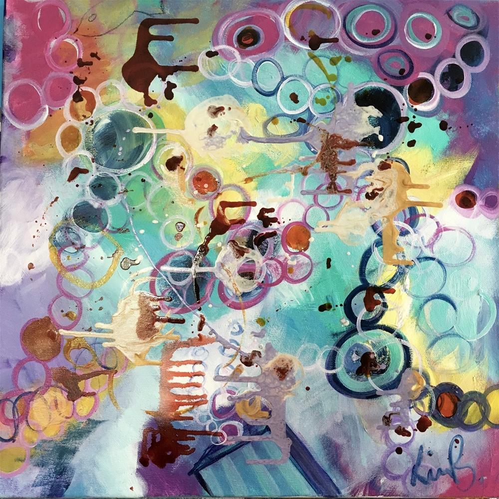 """#16 #30in30 - Chaos"" original fine art by Kimberly Balentine"