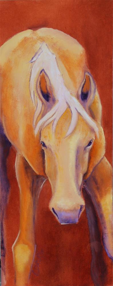 """""""My Little Pal"""" original fine art by Colleen Drury"""