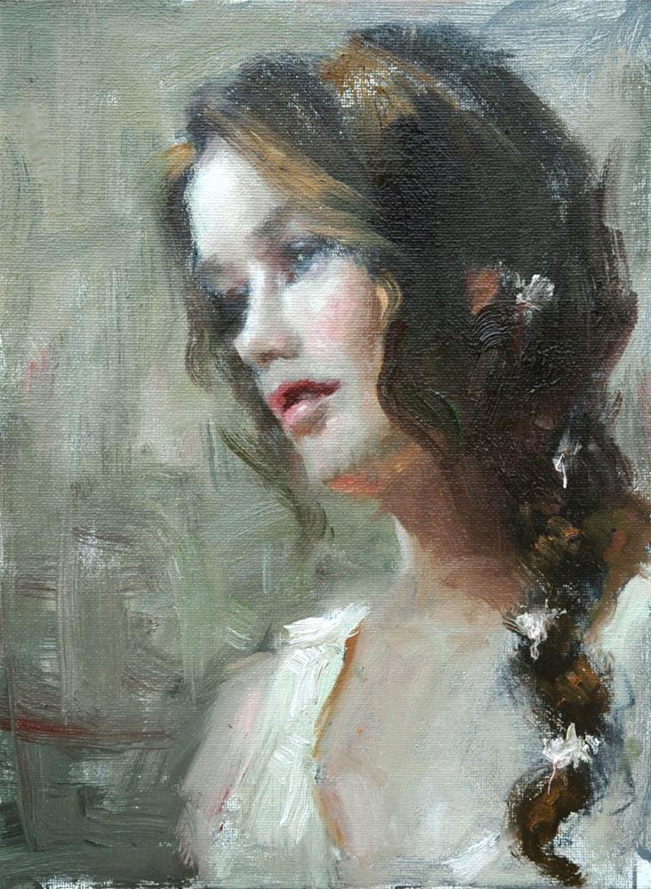 """The Proposal"" original fine art by Johanna Spinks"