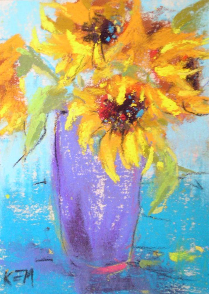 """New Gallery Representation!"" original fine art by Karen Margulis"