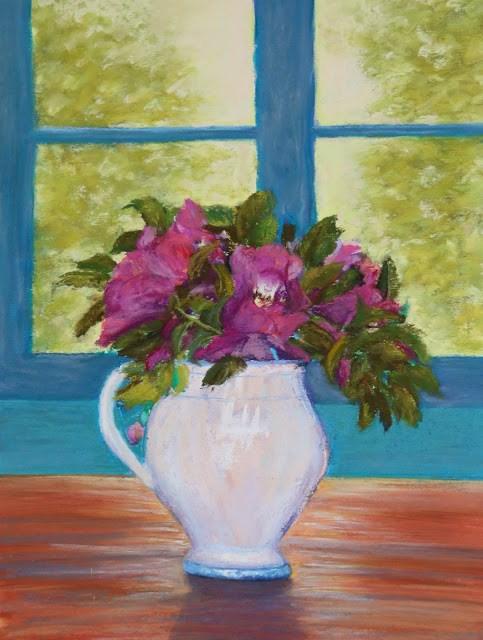 """Wild Beauty"" original fine art by Sharon Lewis"