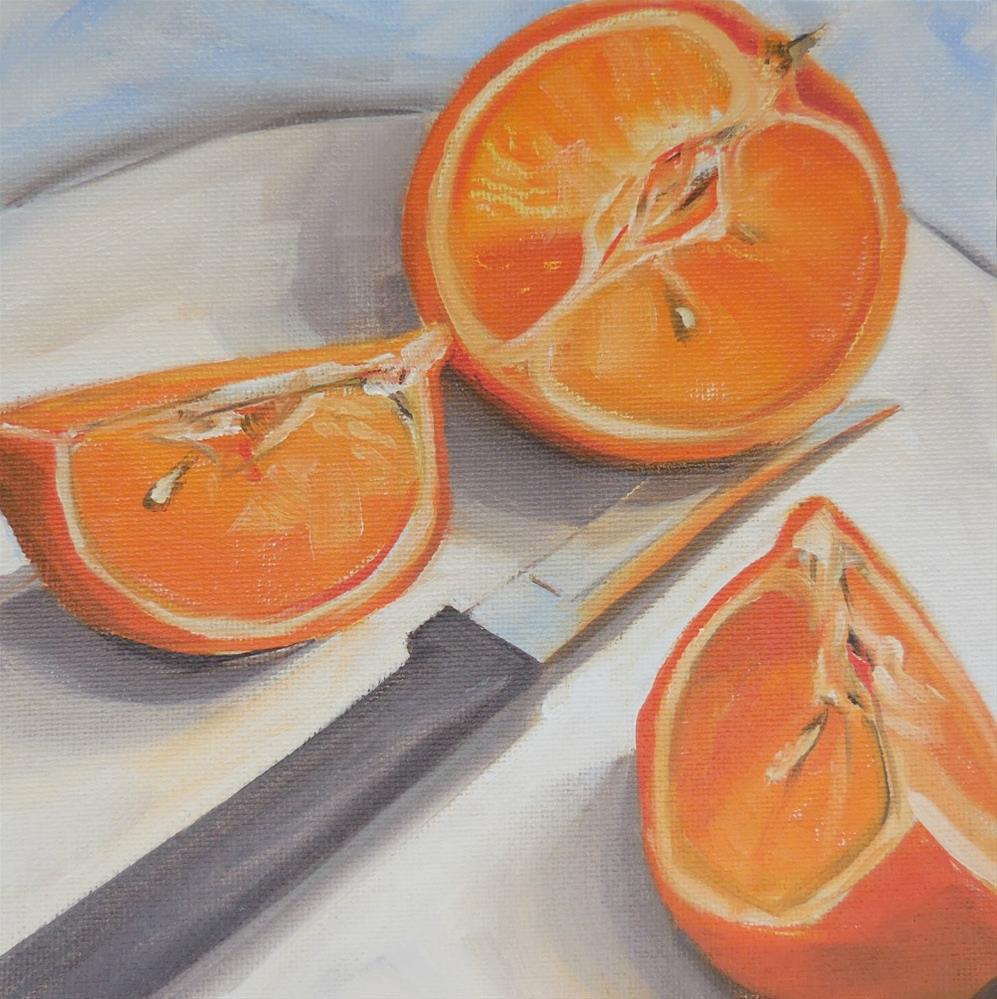 """The Last Mandarin"" original fine art by Beth Moreau"