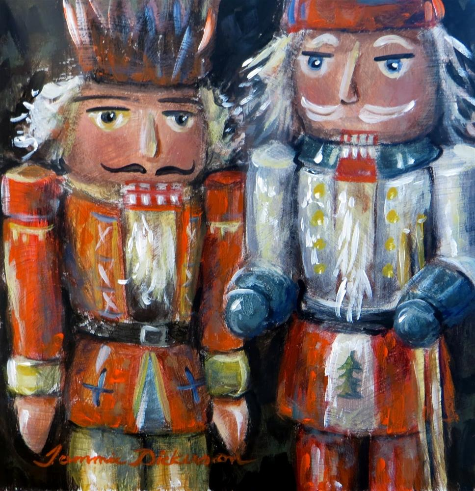 """Nutcracker Duo"" original fine art by Tammie Dickerson"