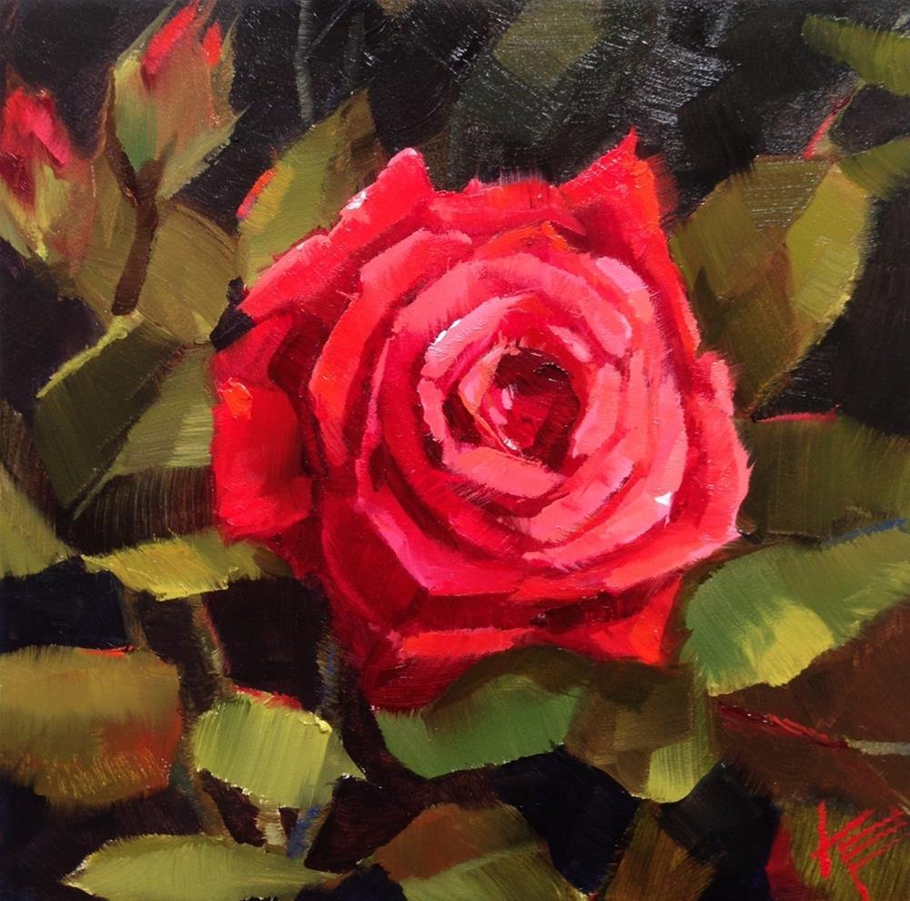 """Arizona Rose"" original fine art by Krista Eaton"