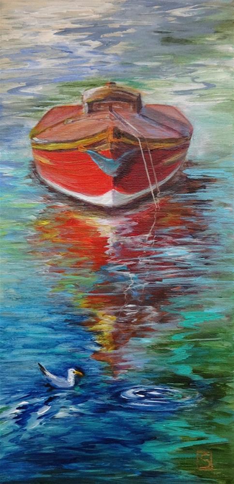 """5059 - Little Nauti II"" original fine art by Sea Dean"