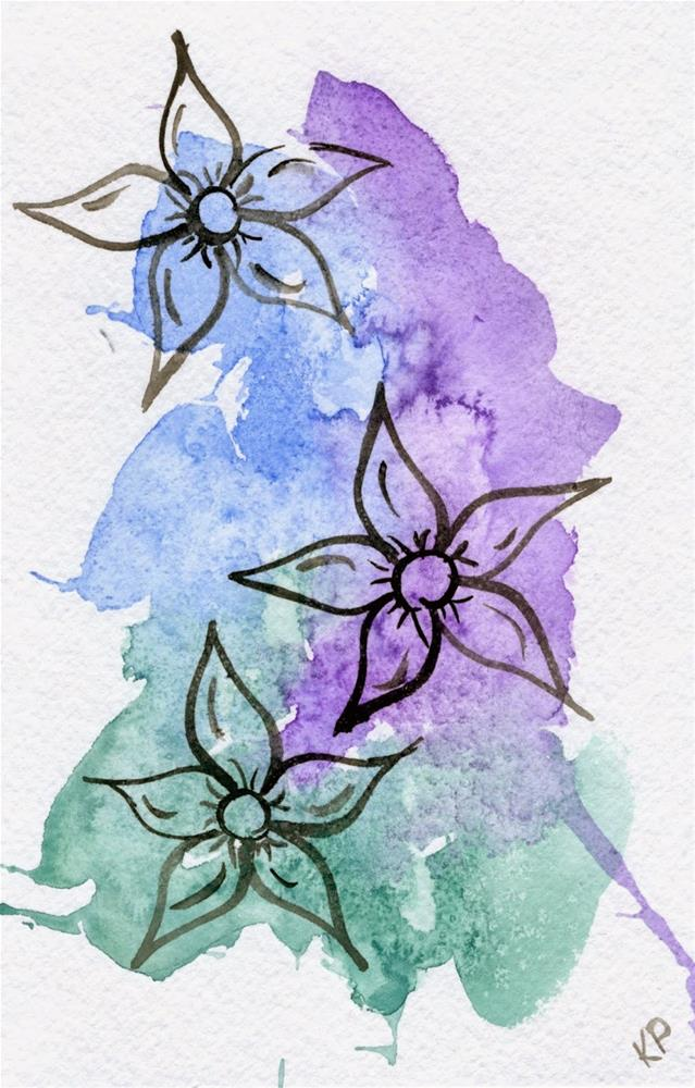 """Trio"" original fine art by Kali Parsons"