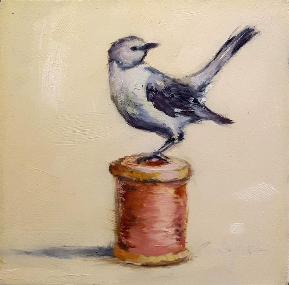 """It's a Sin to Kill a Mockingbird"" original fine art by Karen Weber"