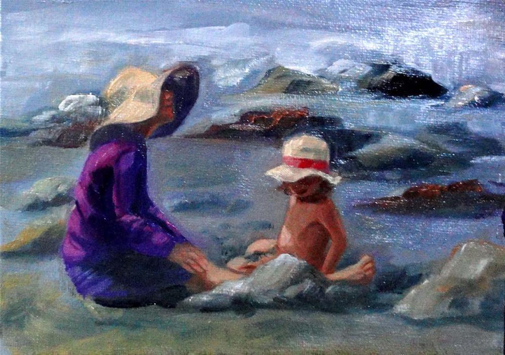 """""""Sun Hats"""" original fine art by Cietha Wilson"""