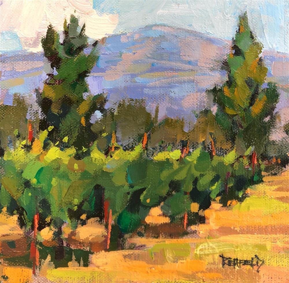 """Morning Vines"" original fine art by Cathleen Rehfeld"