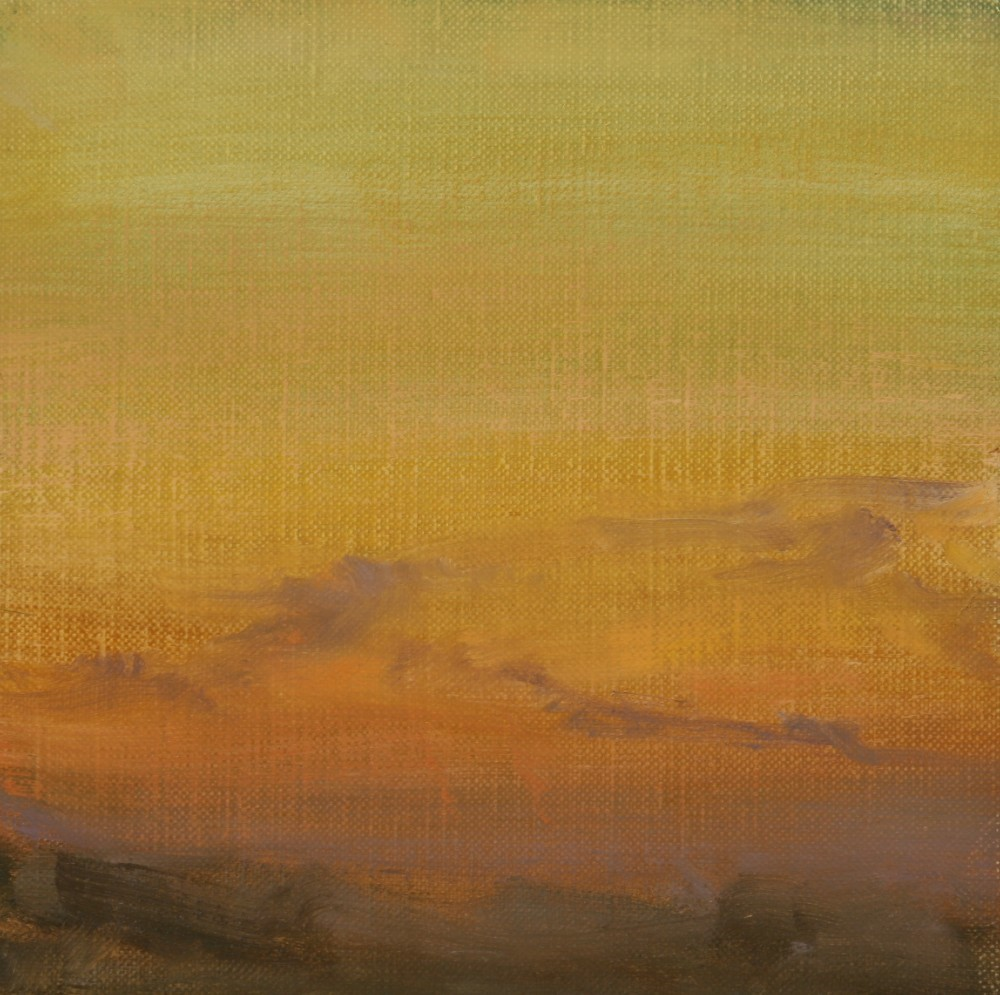 """Winter Sunrise 01"" original fine art by Scott Serafica"
