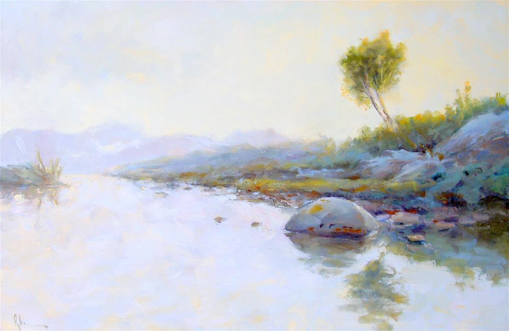 """""""Untitled"""" original fine art by Paul Ryker"""