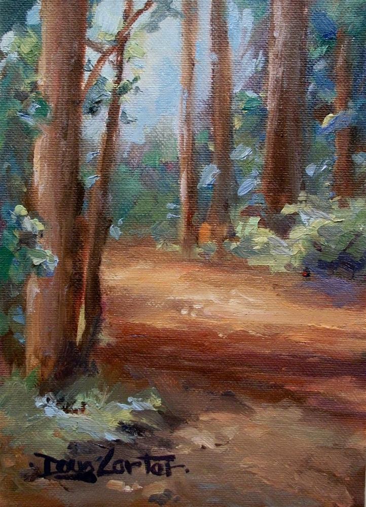 """"""" Whats all this Green Stuff"""" original fine art by Doug Carter"""