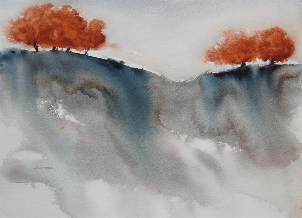 """Dreamscape"" original fine art by Jean Lurssen"