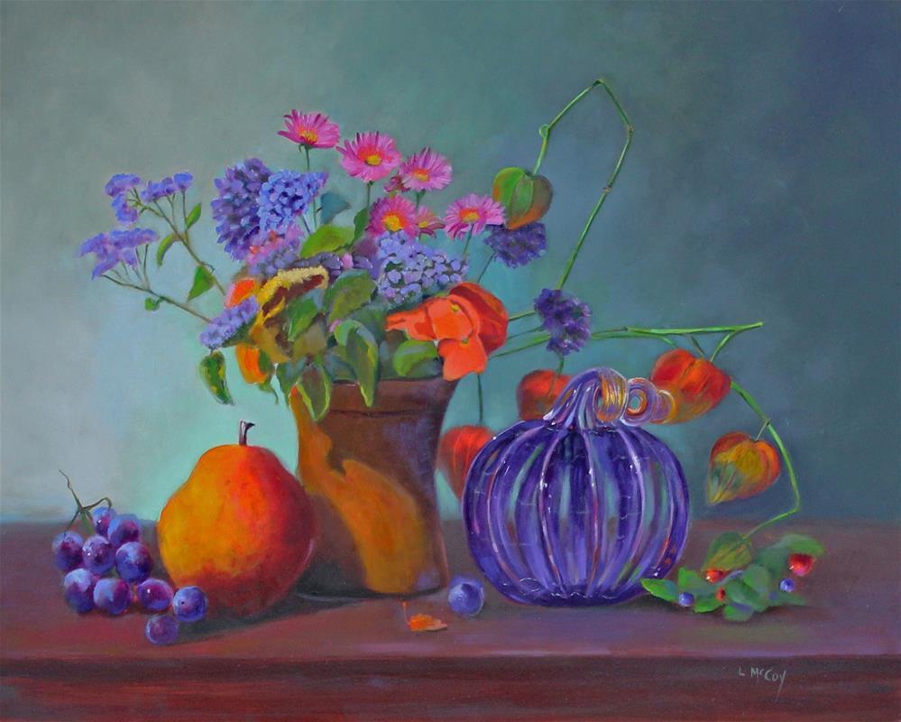 """November"" original fine art by Linda McCoy"