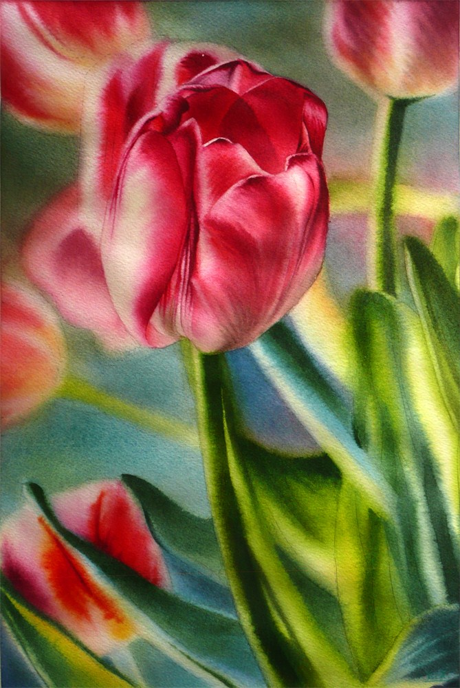 """Spring Breeze IV"" original fine art by Arena Shawn"