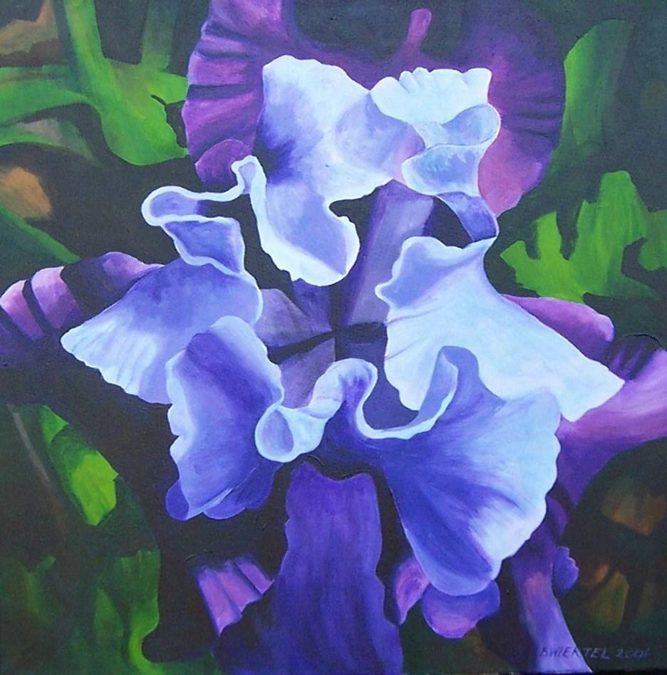 """""""Inside The Iris"""" original fine art by Lisa Wiertel"""