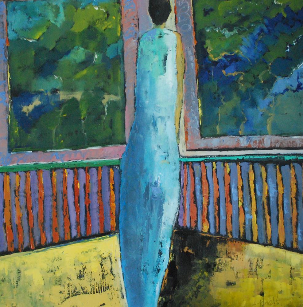 """""""Summer Nights"""" original fine art by Deborah Harold"""