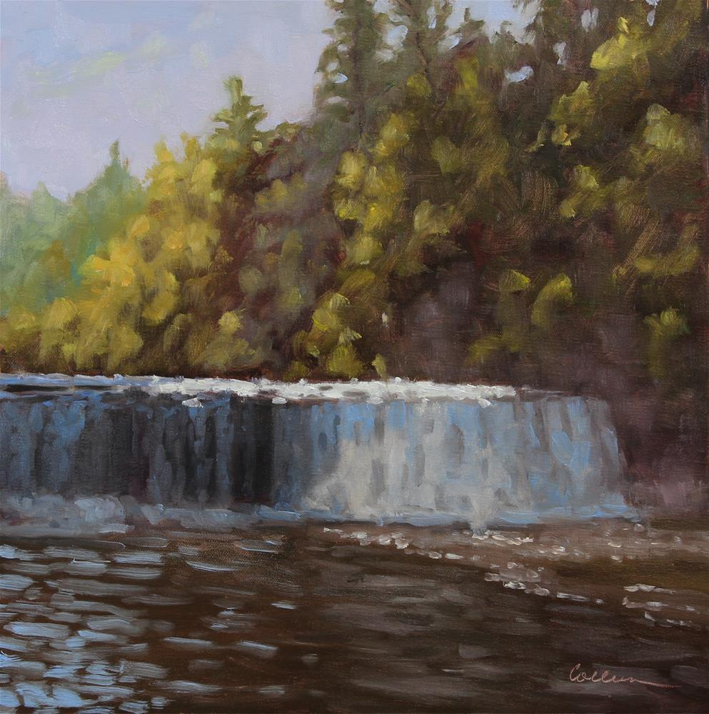 """""""The Lower Falls"""" original fine art by Colleen Parker"""