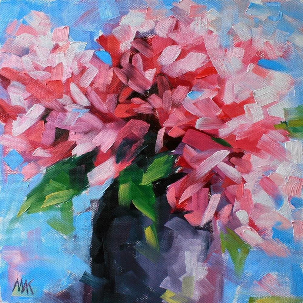 """Jazz"" original fine art by Mary Anne Cary"