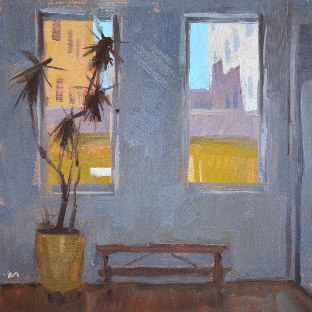 """Looking for Light"" original fine art by Carol Marine"