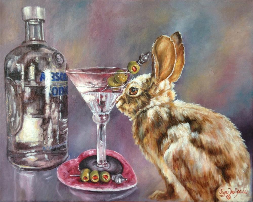 """""""Absolutely Fuzzy (c) by Joye DeGoede"""" original fine art by Joye DeGoede"""