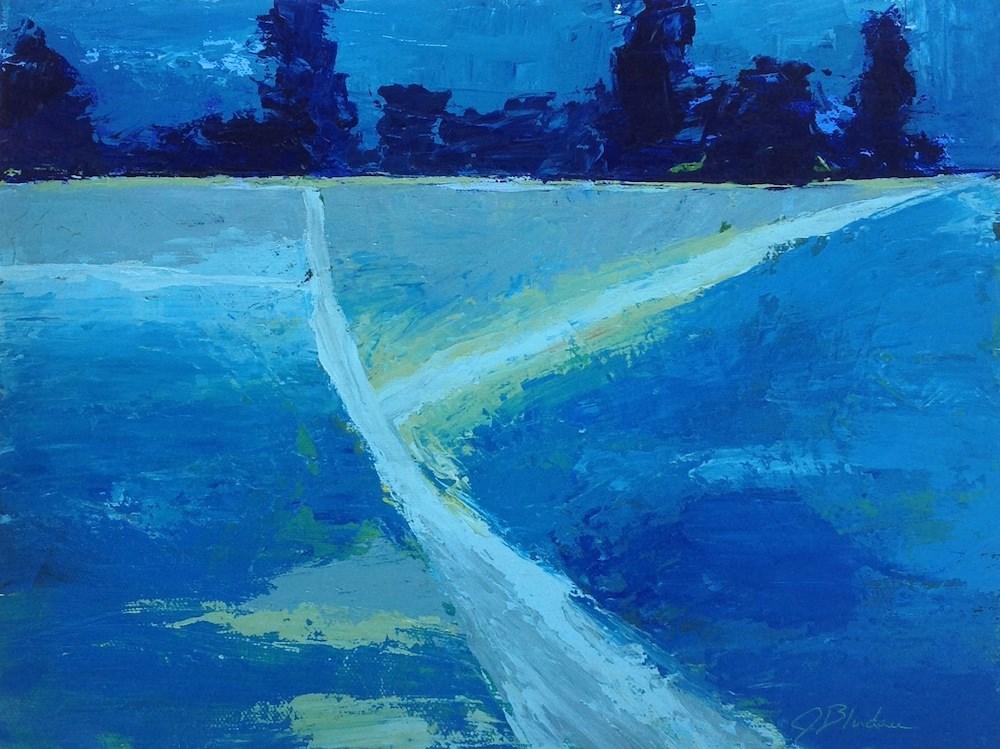 """""""Diverging Paths"""" original fine art by Janet Bludau"""