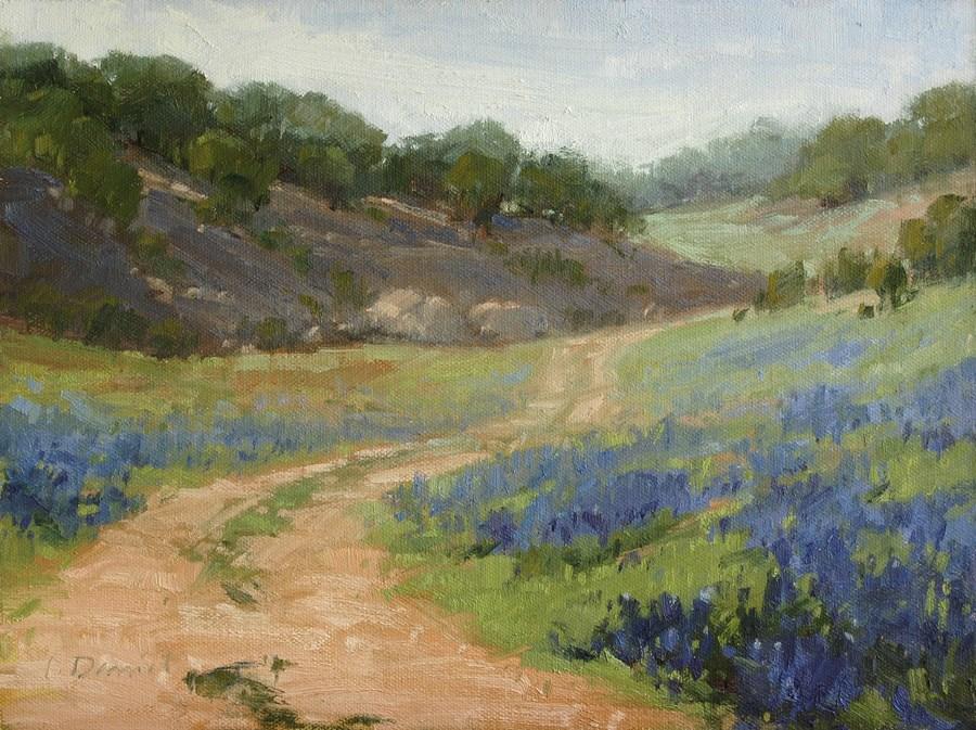 """Turkey Bend - Texas Lifestyle Magazine Article"" original fine art by Laurel Daniel"