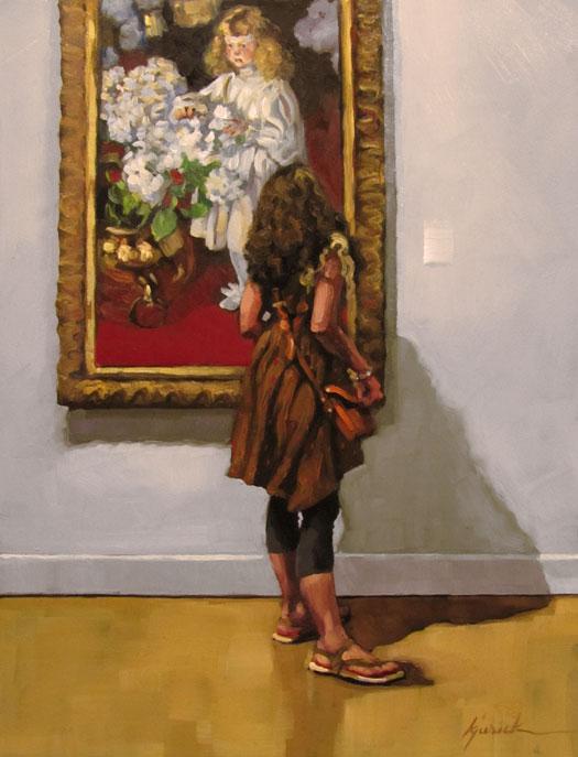 """Curly Girls"" original fine art by Karin Jurick"