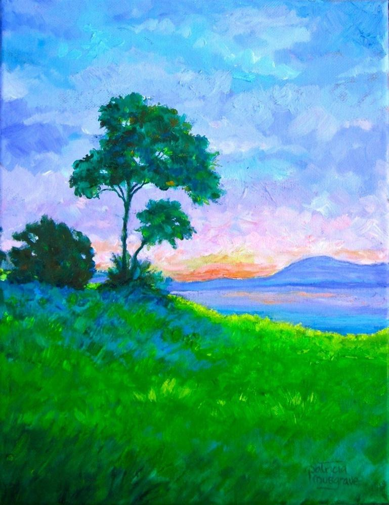 """Sunrise"" original fine art by Patricia Musgrave"