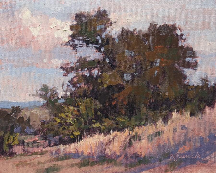 """""""August Afternoon"""" original fine art by Barbara Jaenicke"""