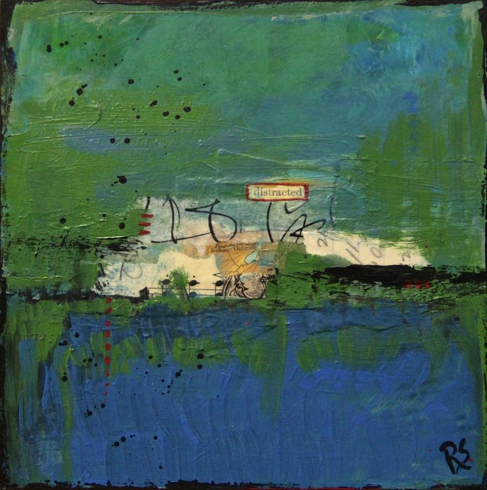 """""""Distracted"""" original fine art by Roberta Schmidt"""