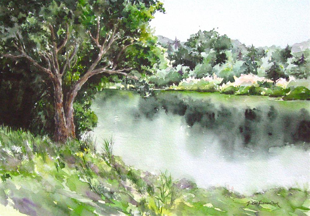 """Summer's lease..."" original fine art by Judith Freeman Clark"
