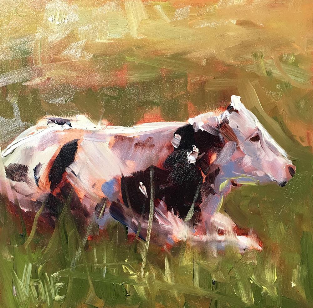 """#292 Chillax"" original fine art by Patty Voje"