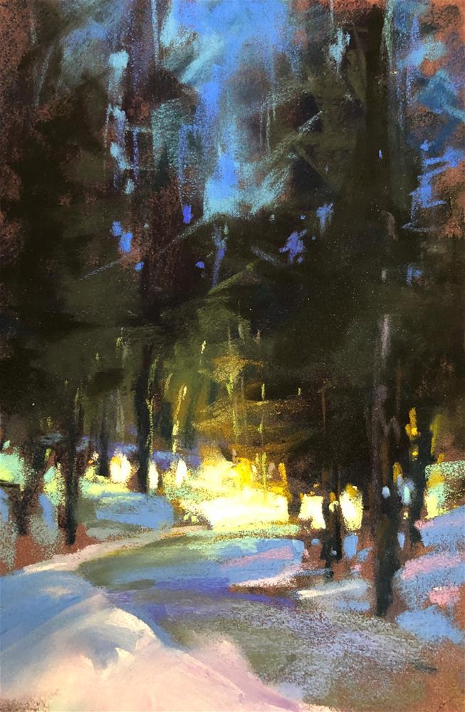 """Evening Walk"" original fine art by Marla Baggetta"