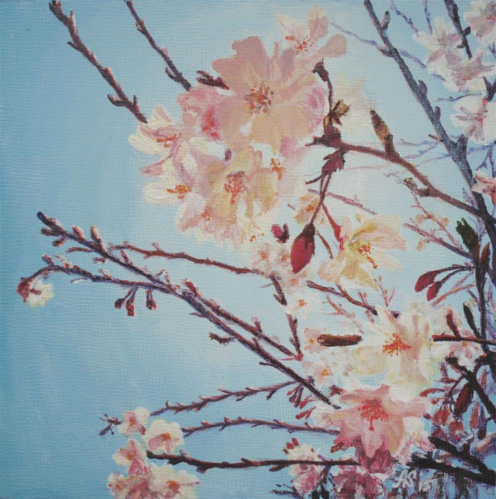 """In bloom I"" original fine art by Anna Starkova"